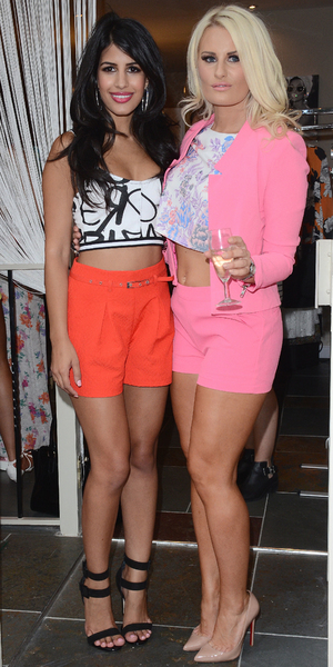 Danielle Armstrong opens new boutique 'Danni' at North Street, Hornchurch, Essex - 25 July 2014