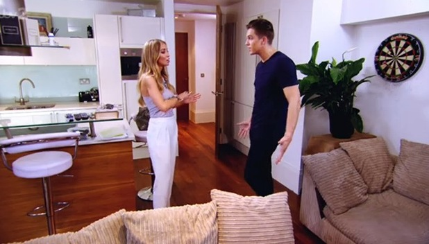 TOWIE's Lauren Pope and Lewis Bloor talk about their relationship - episode aired 23 July.