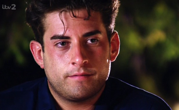 James Arg Argent disappointed as Lydia Bright tells him they're just friends, TOWIE, 23 July