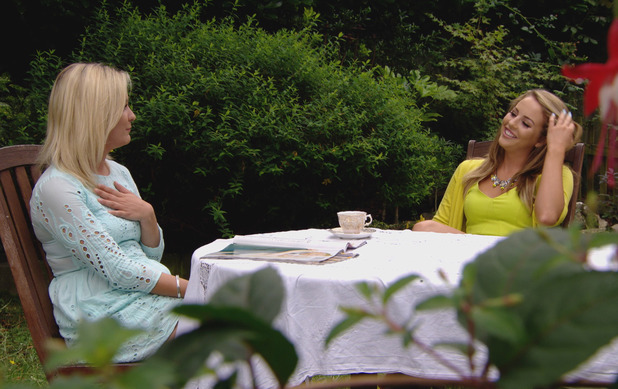 TOWIE's Lydia Bright and Georgia Bright discuss James 'Arg' Argent - 25 July 2014