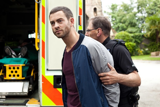 Hollyoaks, Cameron arrested, Wed 23 Jul