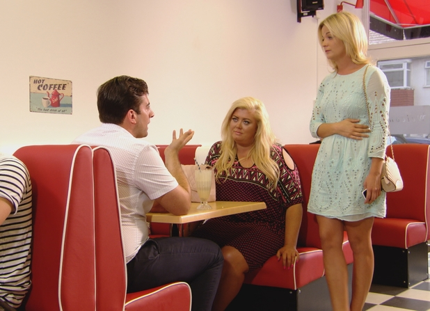 TOWIE's Georgia Bright confronts James 'Arg' Argent - 25 July 2014