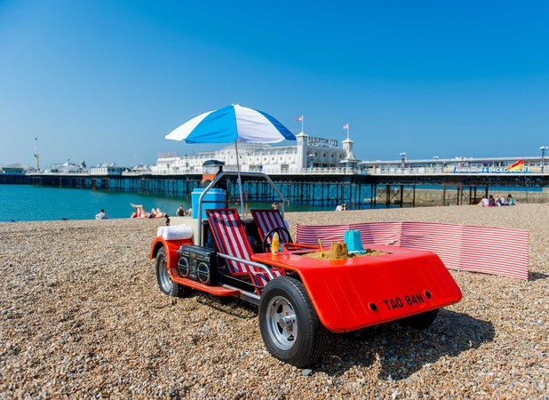 The Ultimate Deck Chair is unveiled at Brighton