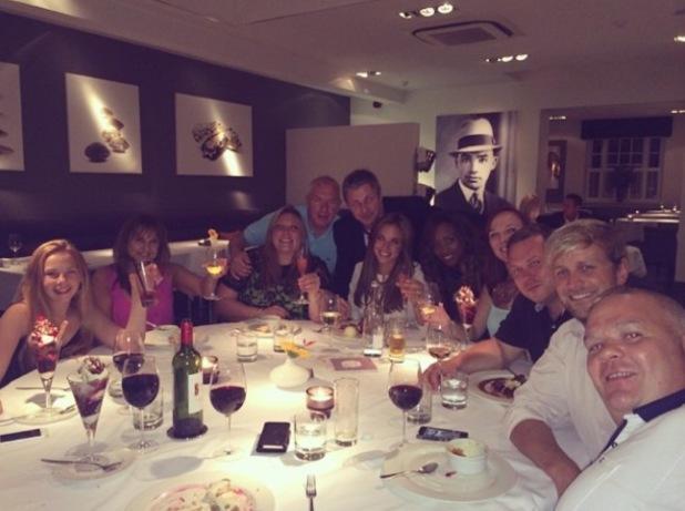 Jodi Albert celebrates her 31st birthday with Kian Egan and family - 23 July 2014