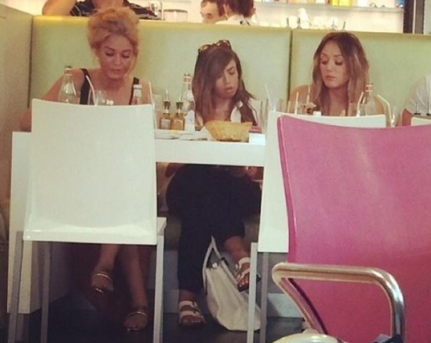 Vicky Pattison, Holly Hagan, Charlotte Crosby eating out in Paris, Geordie Shore series 9, Twitter, 23 July