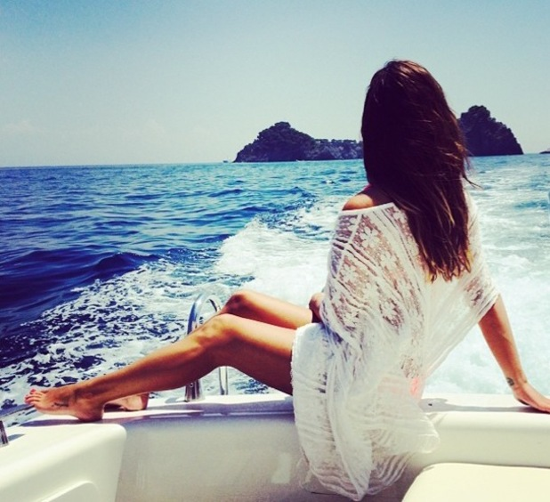 Lea Michele on holiday in Italy, Instagram - 18 July