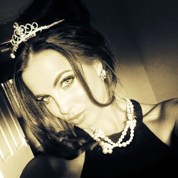 Liam Payne shares snap of girlfriend Sophia Smith on Instagram with slushy message, 26 july 2014