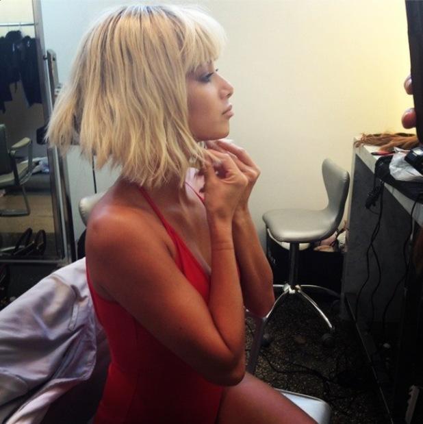 Nicole Scherzinger rocks a blonde bob during a photo shoot - 25 July 2014