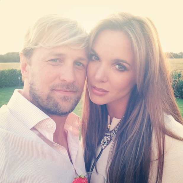 Jodi Albert celebrates her 31st birthday with Kian Egan and family - 23 July 2014