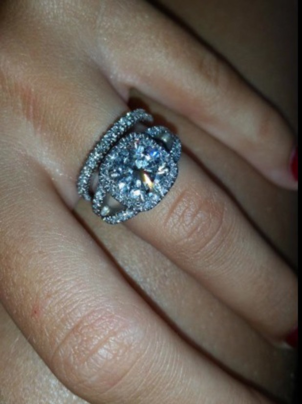 Peter Andre reveals Emily MacDonagh's anniversary present - a diamond eternity ring - 20 July 2014