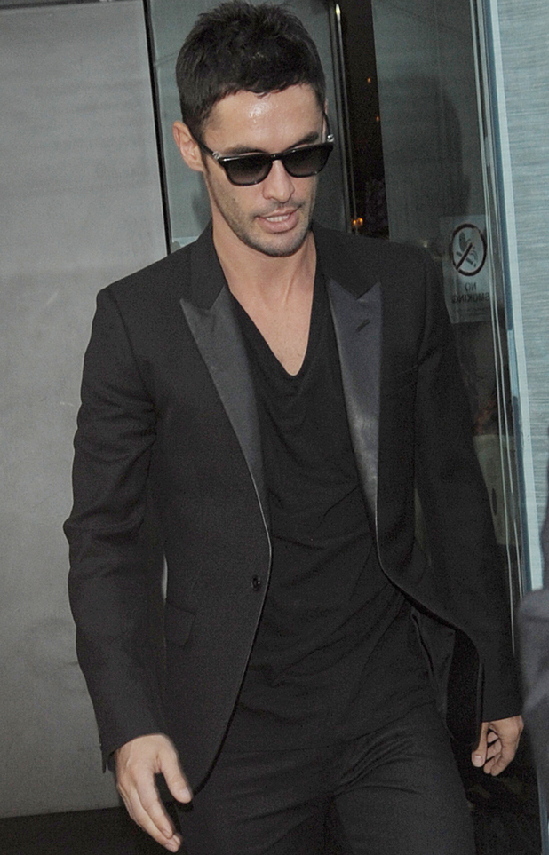 Jean-Bernard Fernadez-Versini supports Cheryl Cole at Avenue for the launch of her new fragrance - 23 July 2014
