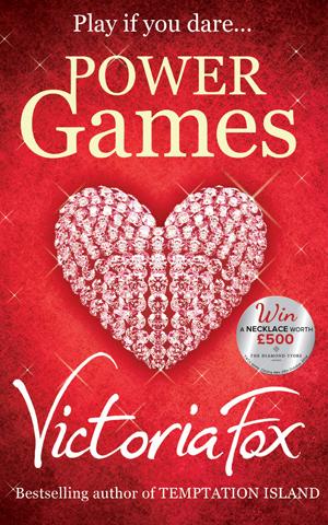 Victoria Fox's new bonkbuster Power Games, released 2014