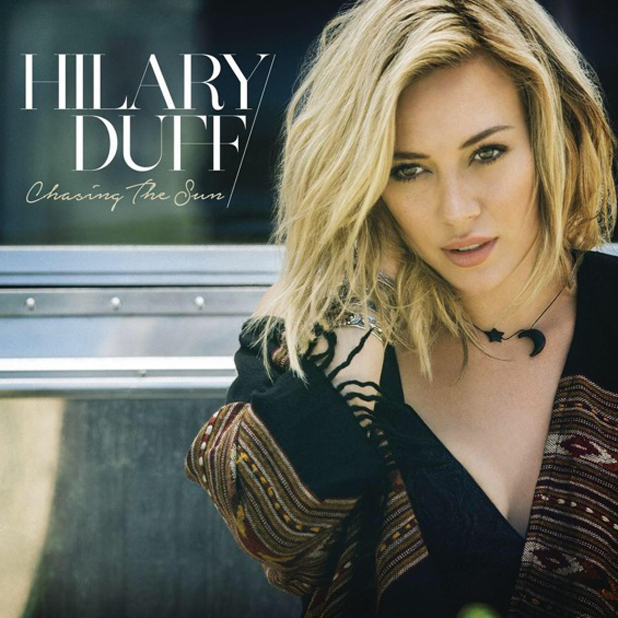 Hilary Duff's comeback single Chasing The Sun, 23 July 2014