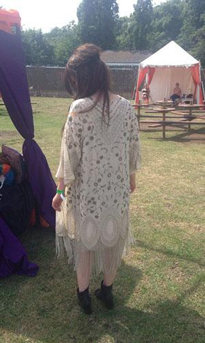 Harriet Davey at Lovebox festival