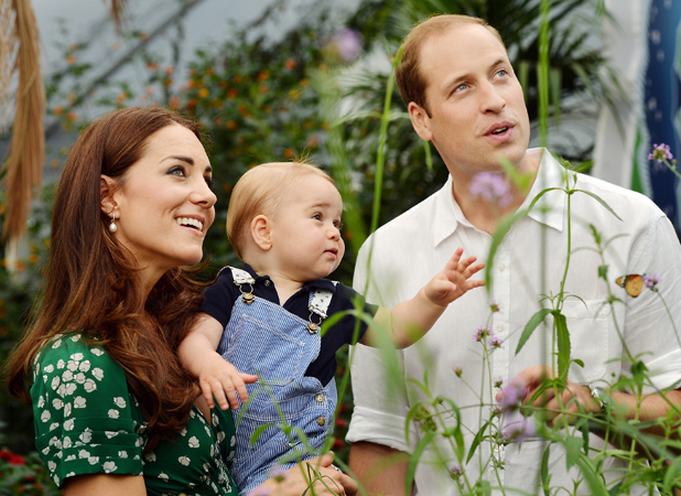 Prince George turns one: official picture released by Buckingham Palace, 22 July 2014