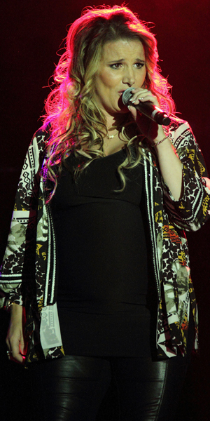 Sam Bailey at Guilfest Day 2, Guildford, Surrey, 19 July 2014