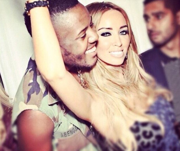 Lauren Pope and Vas J. Morgan in a photo posted to Instagram by Vas, 20 July 2014