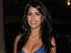 Jasmin Walia flaunts figure in blue bodycon dress at TOWIE wrap party
