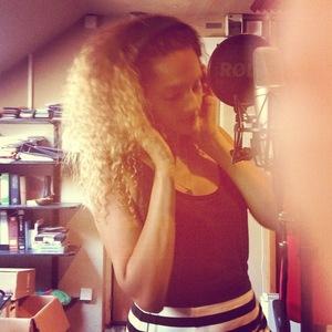 Alesha Dixon back in the studio, Instagram 30 July