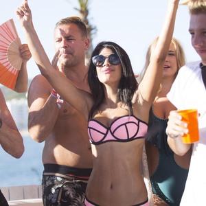 Jasmin Walia at Ocean Beach Ibiza 29 July