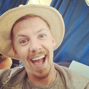 Professor Green takes a selfie on the plane to Ibiza, Instagram 31 July