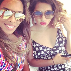 Rochelle Humes and Vanessa White, Instagram 1 August
