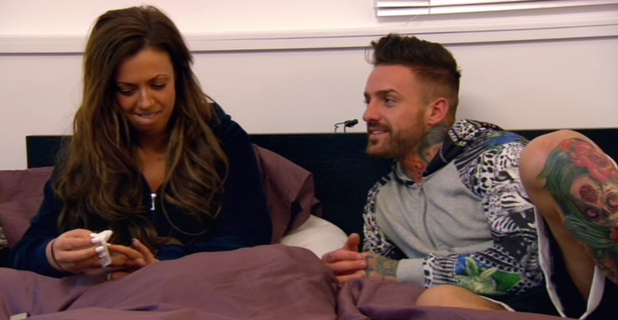 Holly Hagan and Aaron Chalmers discuss Holly's dating demands, Geordie Shore, MTV 29 July 2014