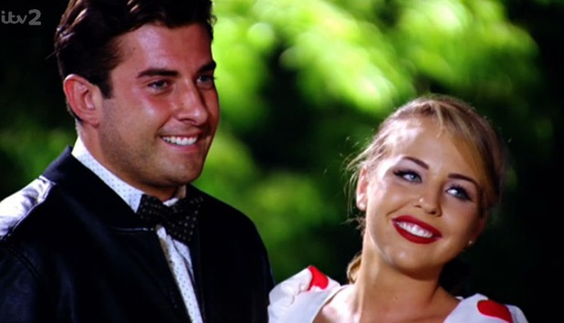 TOWIE's James 'Arg' Argent wins over Lydia Bright in series finale. 30 July.
