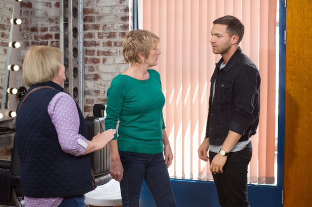 EastEnders, Shirley busts Dean and Babe, Tue 29 Jul