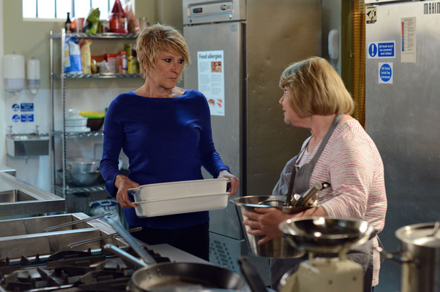 EastEnders, Babe confronts Shirley, Thu 31 Jul