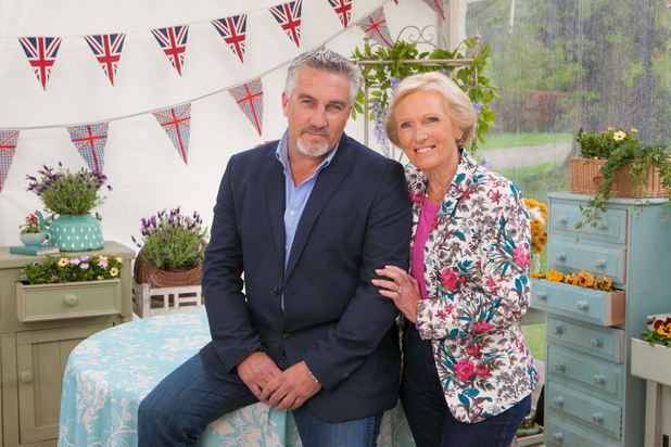 Mary Berry and Paul Hollywood: Great British Bake Off 2014 - 29 July 2014