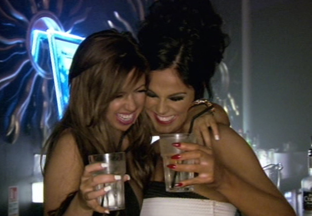 Holly Hagan and Vicky Pattison on Vicky's return, Geordie Shore, MTV 29 July 2014