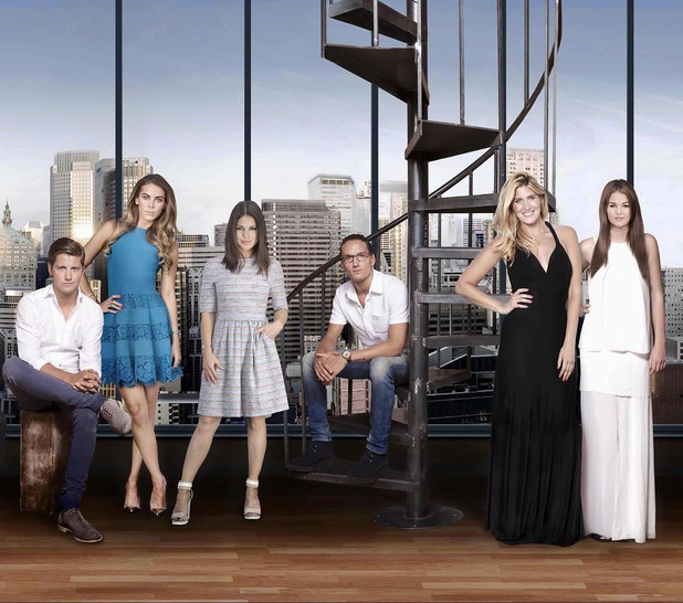 Made In Chelsea: New York cast photo (29 July 2014).