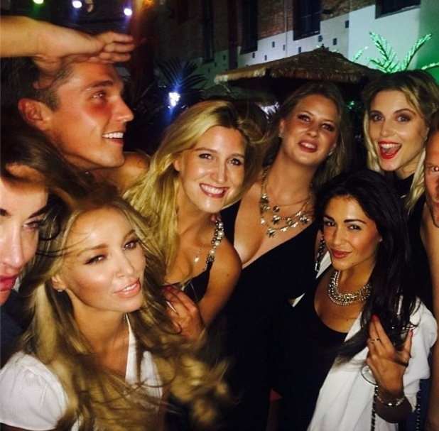 Lauren Pope, Cheska Hull, Ashley James, Casey Batchelor, Lewis Bloor attend TruTV launch, London, 31 July 2014