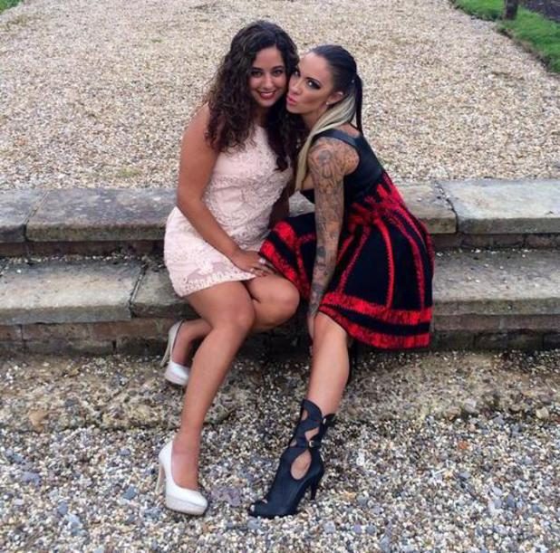 Jodie Marsh pretends that she and her friend Pooja have got married - 28 July 2014