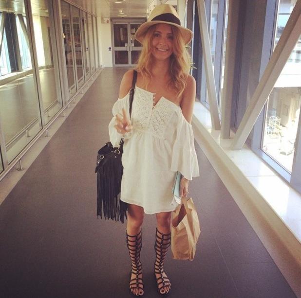 Millie Mackintosh heads on holiday to Ibiza, Instagram 31 July