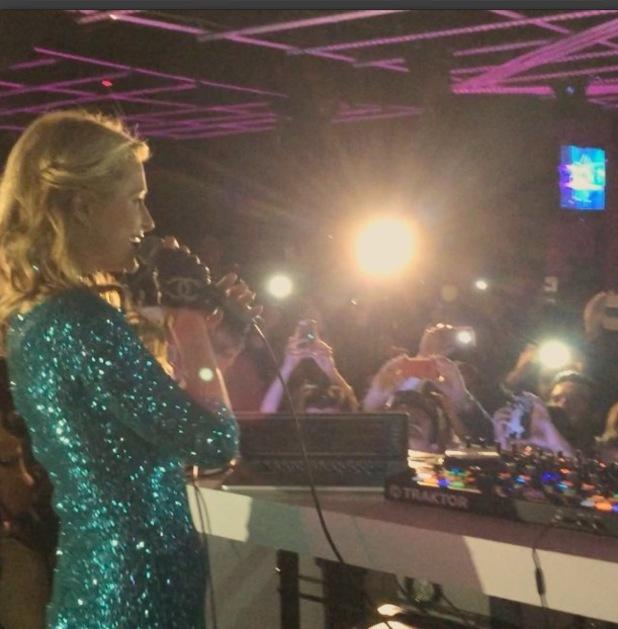 Paris Hilton takes to the decks in Mexico City, Mexico - 24 July 2014