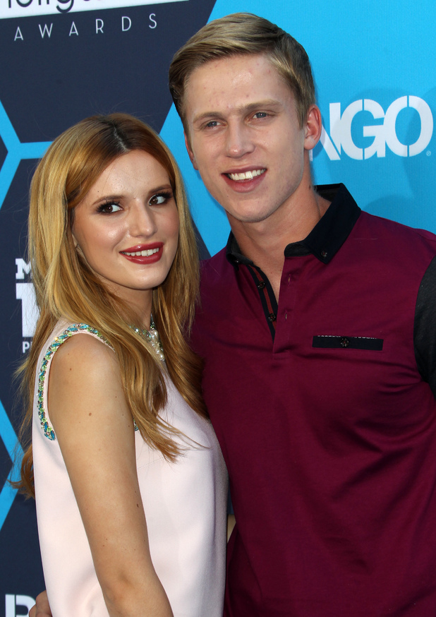 Bella Thorne, Tristan Klier attend the 16th Annual Young Hollywood Awards in Los Angeles, America - 27 July 2014
