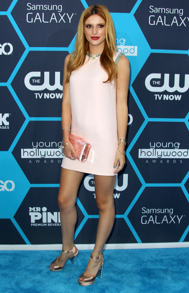 Bella Thorne attends the 16th Annual Young Hollywood Awards in Los Angeles, America - 27 July 2014