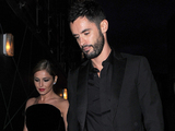 Cheryl Cole and husband Jean-Bernard Fernandez-Versini celebrate with friends at Library in London. 21/07/2014