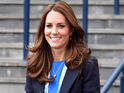 Catherine Duchess of Cambridge at Hampden Park, 20th Commonwealth Games, Glasgow, Scotland, Britain - 29 Jul 2014