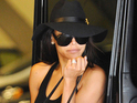 Naya Rivera out and about, Los Angeles, America - 30 Jul 2014