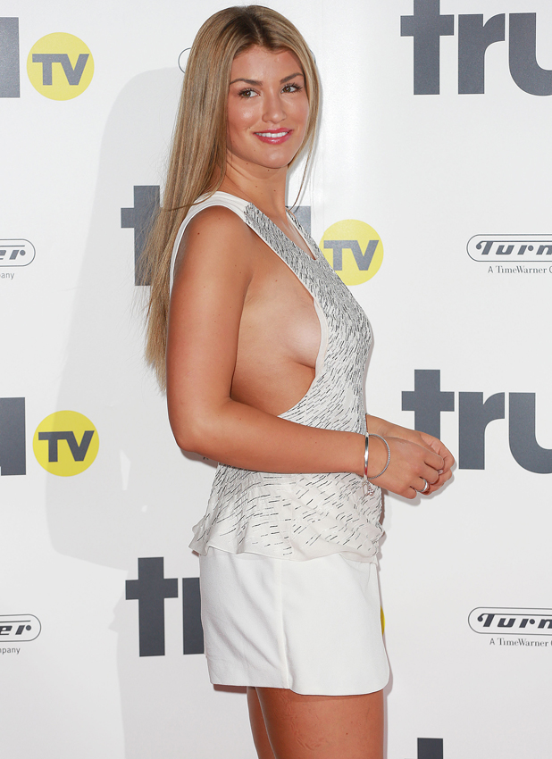 Amy Willerton at Trutv launch party at the Old Truman Brewery, 31 July 2014