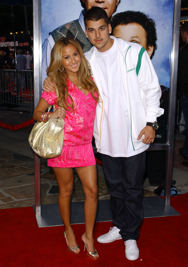 Adrienne Bailon and Robert Kardashian 'Step Brothers' Film Premiere, Westwood, Los Angeles, America - 15 Jul 2008