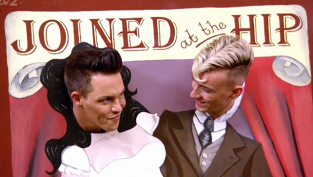 Harry Derbidge and Bobby Cole Norris on TOWIE finale, 30 July 2014