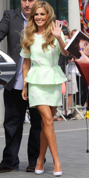 Cheryl Cole at the X Factor auditions at Wembley Arena,  London, 1 August 2014
