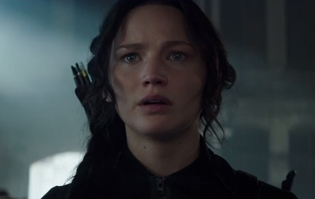 The Hunger Games: Mockingjay - Part 1 trailer - Jennifer Lawrence