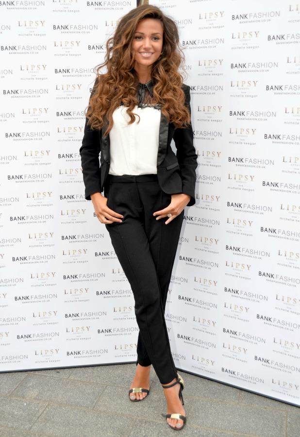 Michelle Keegan opens Bank fashion, Liverpool, Britain - 01 Aug 2014