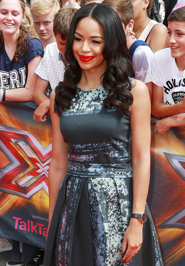 Sarah-Jane Crawford at X Factor London Auditions at Wembley Arena, 1 August 2014