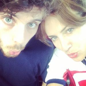 Caroline Flack and boyfriend Jack Street, Instagram 29 July